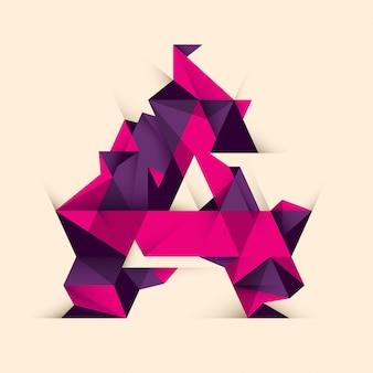 Une lettre design