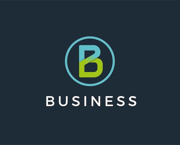 Lettre du logo b