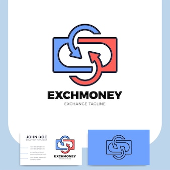Lettre d'échange s et logo arrow