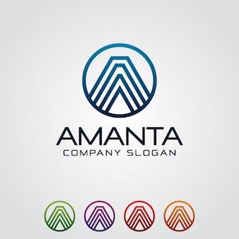 Lettre d'entreprise une logo