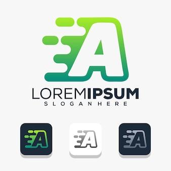 Lettre f avec création de logo technique