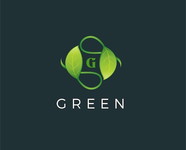 Lettre g en cercle logo