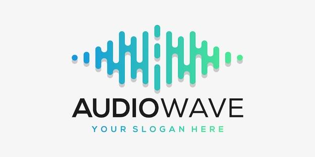 Lettre a avec impulsion. élément de lecteur de musique. modèle de logo musique électronique, égaliseur, magasin, dj, discothèque, discothèque. concept de logo audio wave,