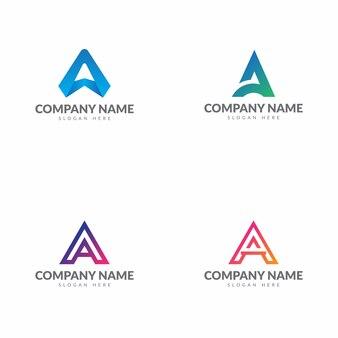 Lettre initiale une collection de logo