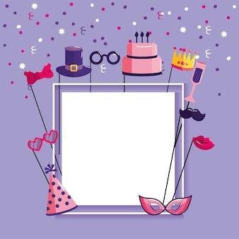 Lettre de joyeux anniversaire pour célébrer une fête