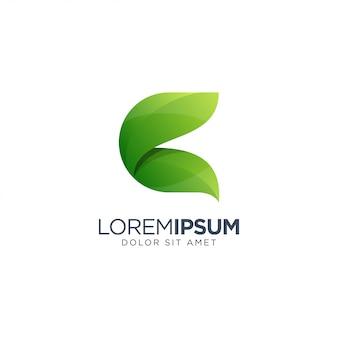 Lettre C Logo Vecteur Premium