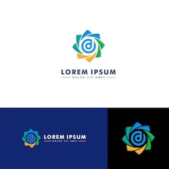 Lettre d logo