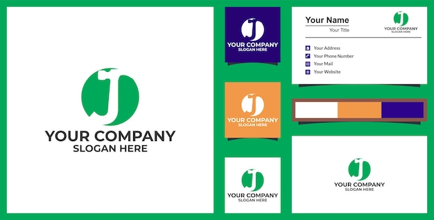 Lettre m hammer logo services de bricoleur conception de vecteur de logo et conception de carte de visite vecteur premium