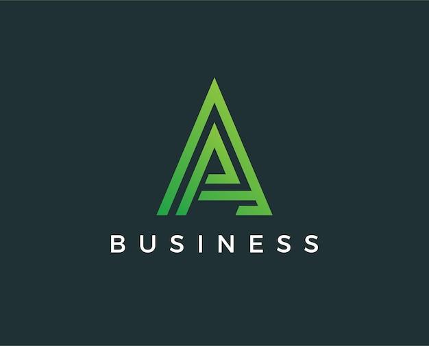 Lettre minimale un modèle de logo