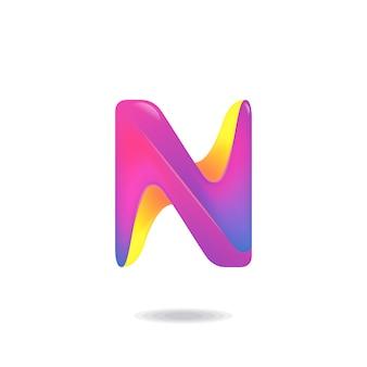 Lettre n logo