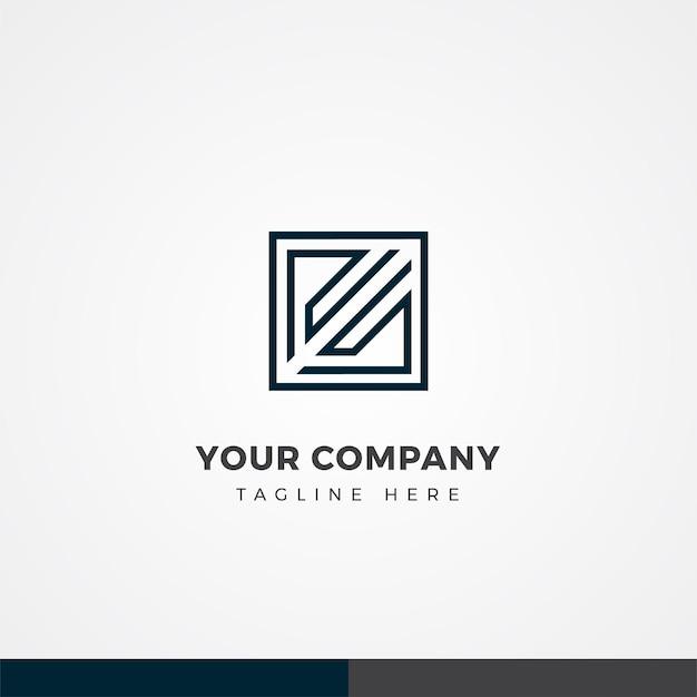 Lettre rs conception du logo