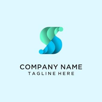Lettre s gradient logo