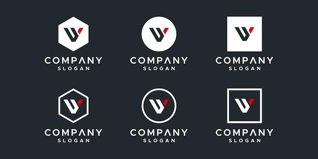Lettre vy création de logo inspirant