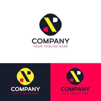 Lettre x création de logo