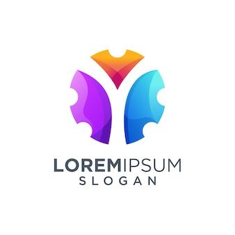 Lettre y logo