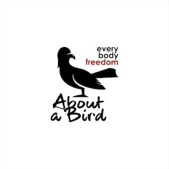 Liberté amusement illustration art de l'oiseau