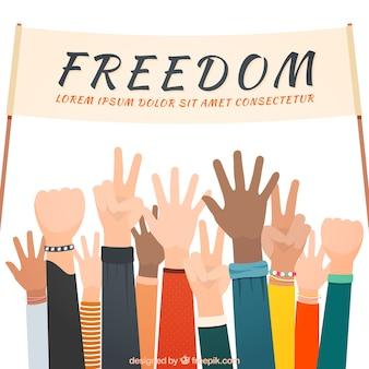 Liberté fond