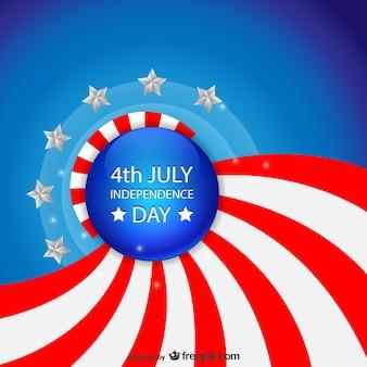 Libre vecteur de jour de l'indépendance