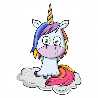 Licorne cartoon