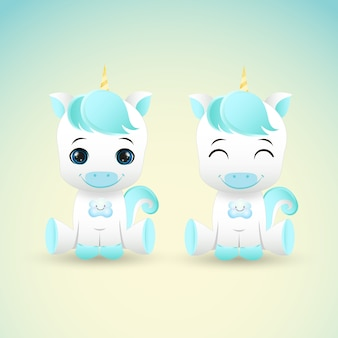 Licornes mignonnes