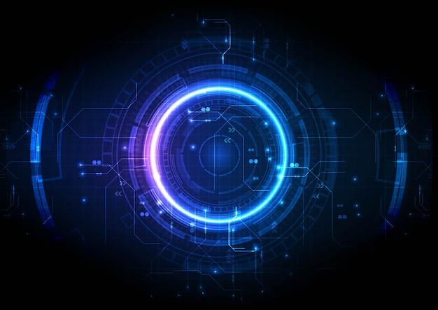 Light center jeu futuriste technologie numérique