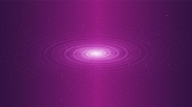 Light cosmic spiral trou noir sur fond de galaxie avec spirale de la voie lactée, univers et concept étoilé,