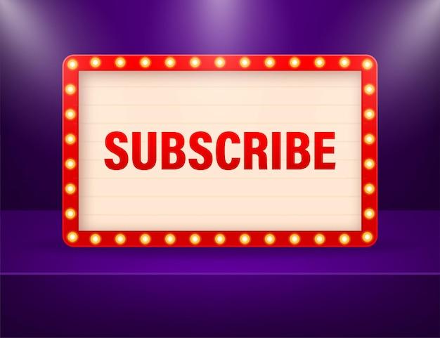 Lightbox s'abonner
