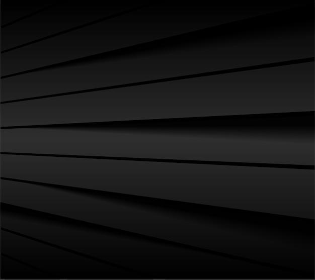 Ligne abstraite fond noir.