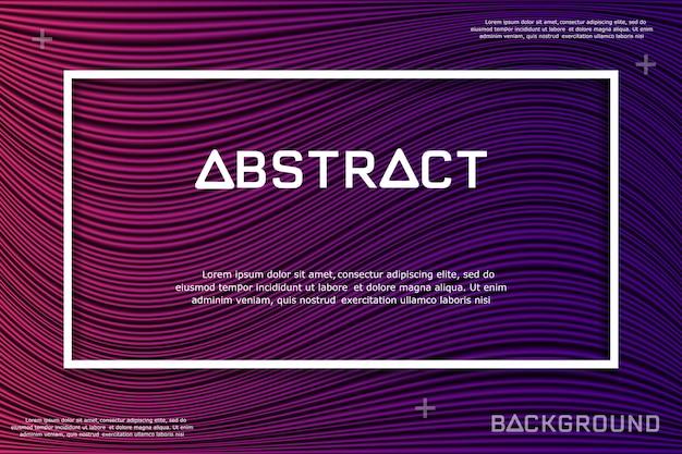 Ligne abstraite et fond de texture.