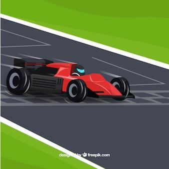 Ligne d'arrivée en formule 1