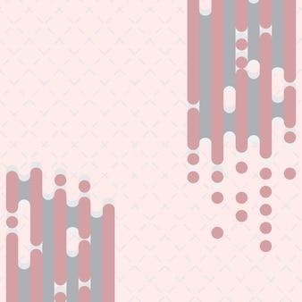 Ligne d'art créé sur fond abstrait dash