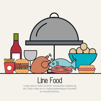 Ligne design alimentaire