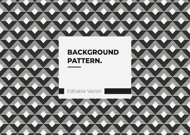 Ligne de motif abstrait moderne pour la mode du papier tissu