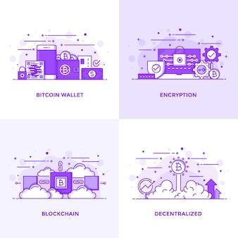 Ligne plate violet