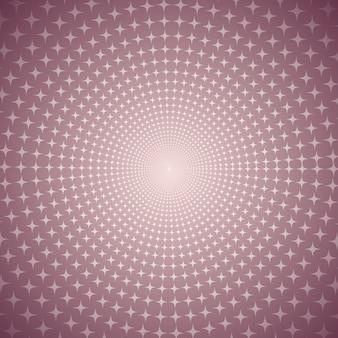 Ligne radiale shine droite