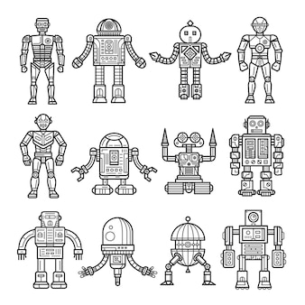 Ligne robot collection