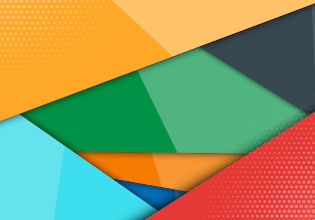 Ligne de style moderne abstraction formes fond.