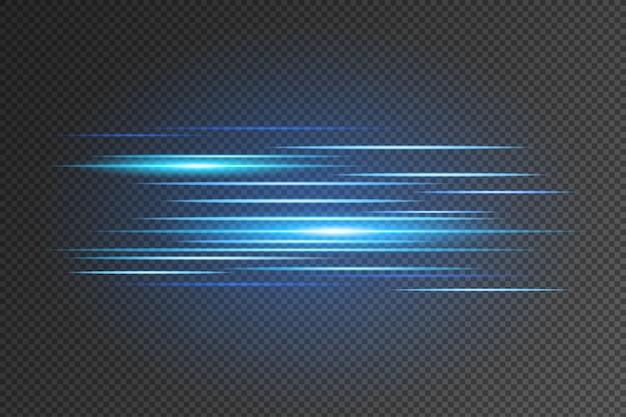 Ligne de vecteurs vitesse translucide.