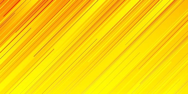 Ligne de vitesse jaune