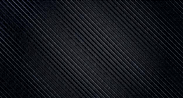 Lignes abstraites de fond de texture noire. fond géométrique de conception abstraite noire