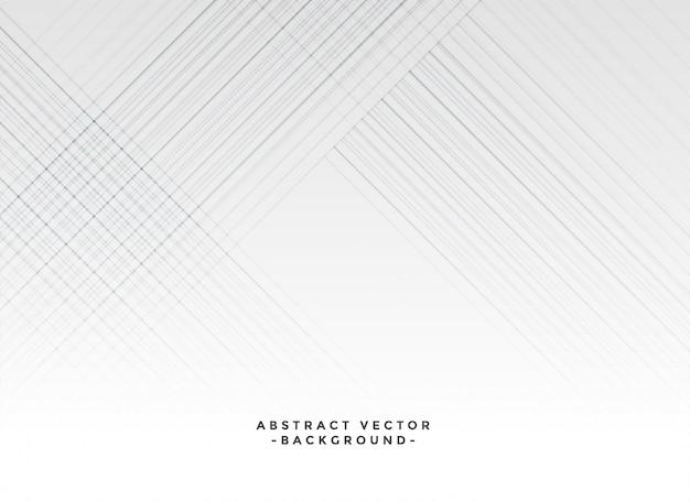 Lignes blanches élégantes fond blanc
