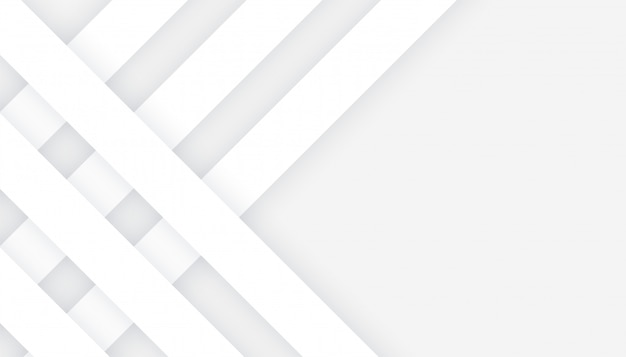 Lignes blanches de style 3d sur fond gris