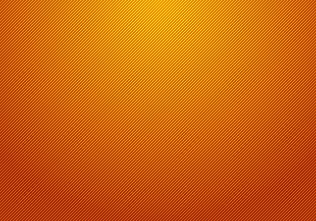Lignes diagonales abstraites rayé fond orange