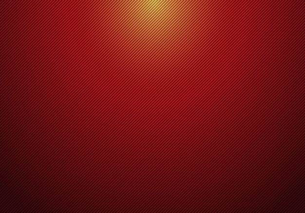 Lignes diagonales abstraites rayé fond rouge