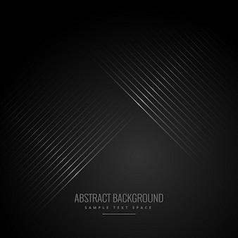Lignes diagonales en arrière-plan noir