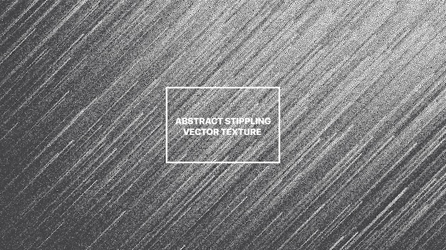 Lignes dynamiques dotwork glitch art abstrait