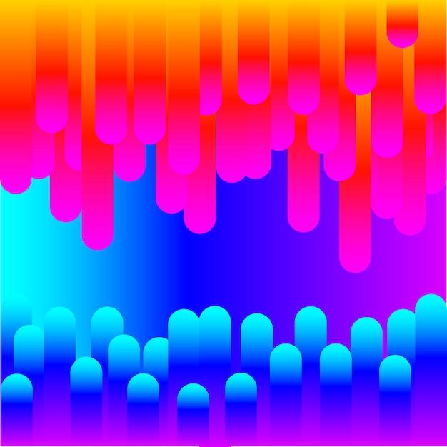 Lignes fluorescentes. ligne de lueur abstraite pour carte de conception, invitation à une conférence scientifique, papier peint pour l'éducation scolaire, t-shirt, impression de sac, publicité d'atelier moderne, affiche de vente de magasin, etc.