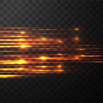 Lignes incandescentes bright fond