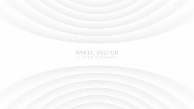 Lignes lisses courbées effacer blanc affaires subtil blanc élégant