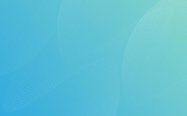 Les lignes de particules abstraites se courbent en blanc sur un fond de couleur bleu pastel. conception pour bannière de médias sociaux, dépliant d'affiche, affiche, brochure, dépliant, web